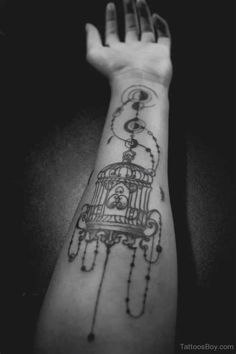 bird cage wrist tattoo cage tattoos designs pictures page 5