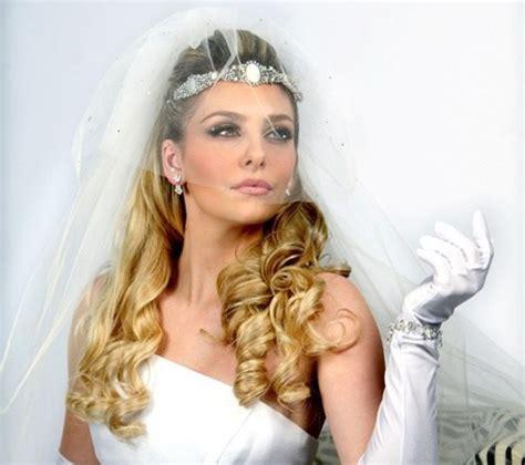 half up half wedding hairstyles 40 stylish ideas for brides
