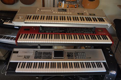 Keyboard Roland Korg Piano Keyboards Musicians Media