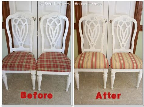 Dining Room Chair Cushions Diy How To Recover A Chair Seat Cushion Easy Step By Step