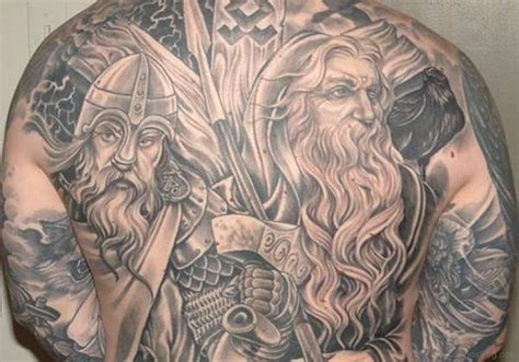 cool back tattoos 59 alluring viking tattoos for back
