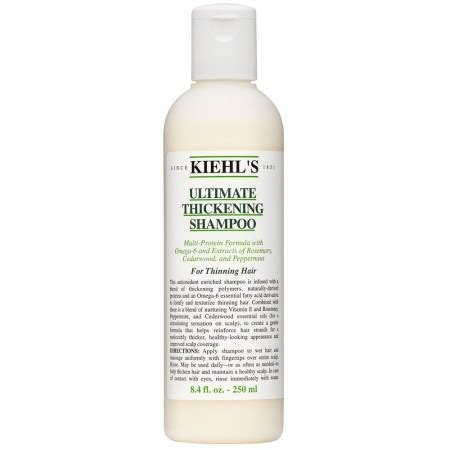 Product Review Kiehls Thick Volumizerhav 3 by Hair Thickening Products The Best Haircare For Thick