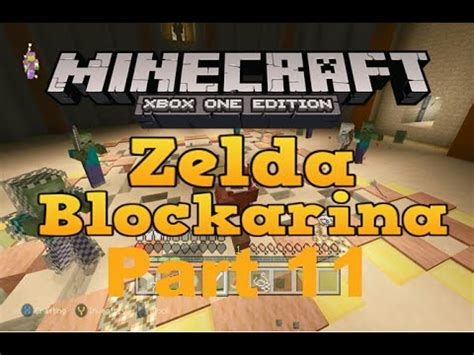 game mode adventure minecraft xbox minecraft xbox one zelda blockarina adventure map part