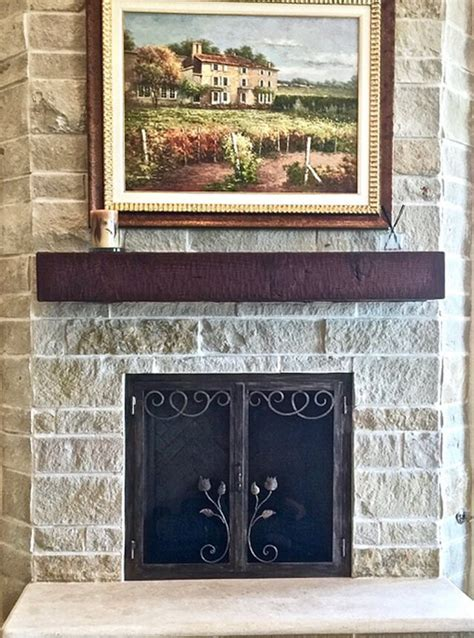 fireplace screens wrought iron work