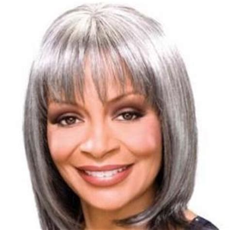 gray hair pieces for african american women brazil short straight gray african american wigs for women