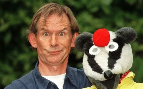 andy cunningham, creator and star of bodger and badger
