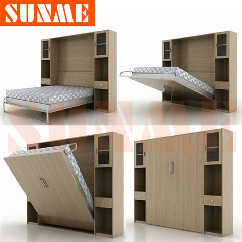 Folding Wall Bed Murphy Bed Folding Bed Wall Bed Murphy Bed Sunme Ka5 Size In Wood Beds From Furniture