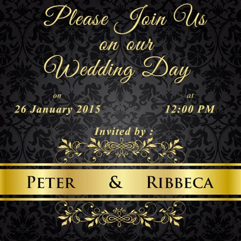 wedding invitation card maker invitation card maker free