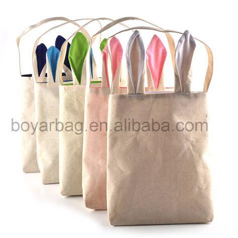 Jute Bag Decoration by 2017 Easter Decoration Jute Tote Bag Bunny Burlap Bags