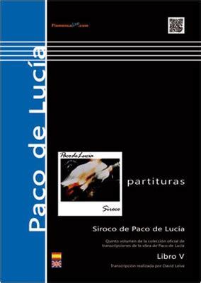libro siroco siroco libro paco de luc 237 a comprar en tienda online de venta por internet flamenco libros