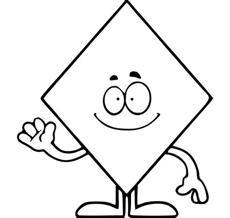 shapes coloring pages free printable shapes coloring pages for