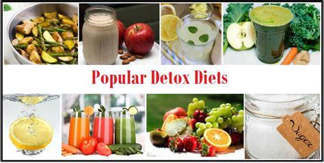 Common Detox Diets detox detox health