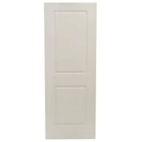 calhome 30 in x 80 in white primed mdf raised 2 panel jeld wen 30 in x 80 in molded smooth 2 panel square