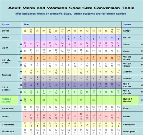 size chart shoes mens shoe size conversion shoes for yourstyles