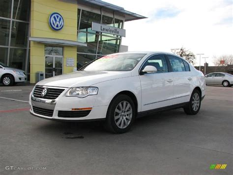 white volkswagen passat 2008 candy white volkswagen passat turbo sedan 2835626
