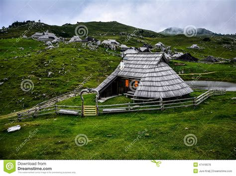 house pasture pasture house stock photo image 47418576