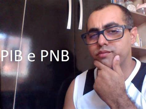 O Pnb voc 234 sabe o que 233 pib e pnb