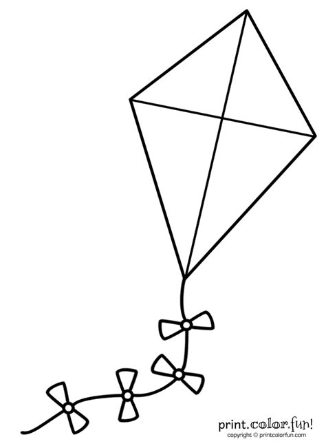 Kite Outline by Kite Outline Images Search