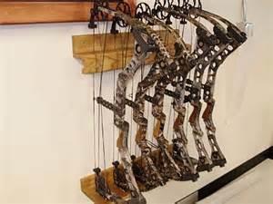 bow display rack bow wall rack bowtrax 6 bow wall rack
