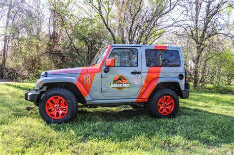 Jeep Wraps 2016 Jurassic Park Jeep Wrap Wrapfolio