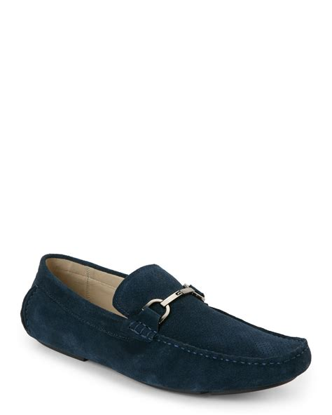 kenneth cole suede loafers kenneth cole reaction navy suede safe n sound moc toe