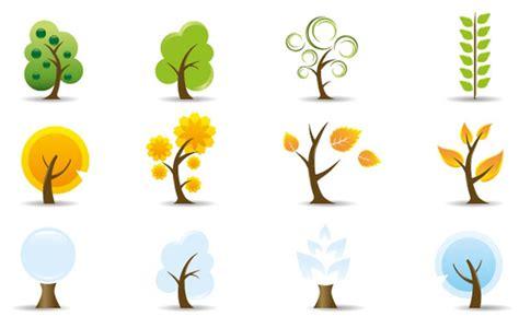 tree logo vector free free vector trees cliparts co