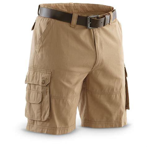Nuzila Syari Khaki By Amily guide gear 174 ripstop cargo shorts 234386 shorts at
