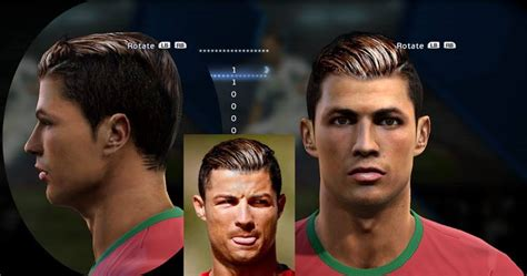 download hairstyles pes 2013 c ronaldo face new hair style by sontri doni pes