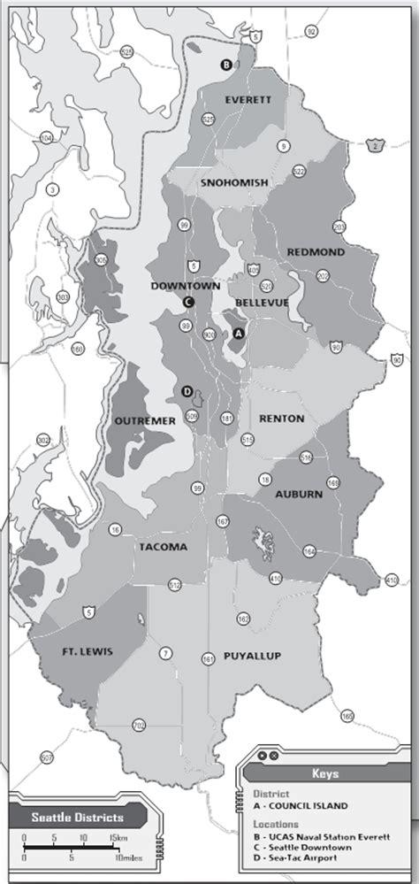 seattle map shadowrun shadowrun
