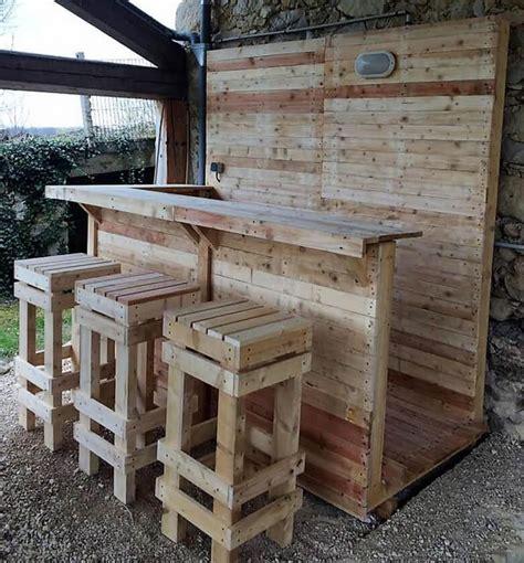 Construire Un Bar En Bois 3154 by Construire Un Bar Exterieur En Bois