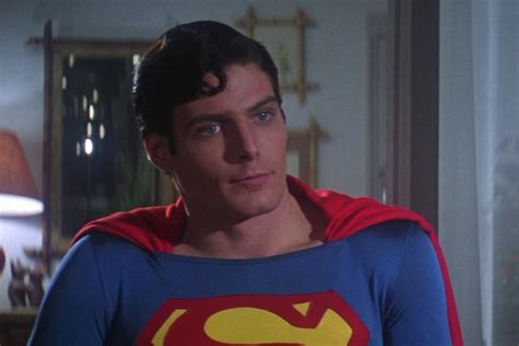 christopher reeve as superman superman s best special effect didn t require any