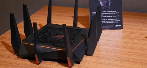 Router Rog asus rog rapture gt ac5300 router for gamers with