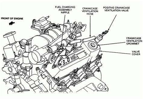 2005 chevy malibu engine diagram automotive parts