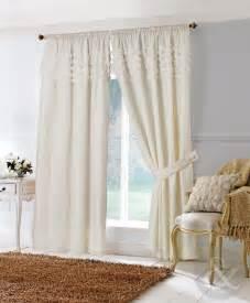 Modern Curtain Valance Ideas Rosa Cream Lined Pencil Pleat Voile Curtain Curtains Uk