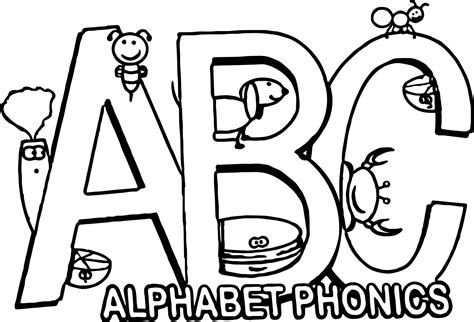 abc phonics coloring pages the alphabet song in phonics coloring page wecoloringpage