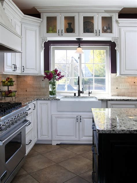 Kitchen Cabinets Around Windows Cabinets And Light Above Window Home Sweet Home Pinterest