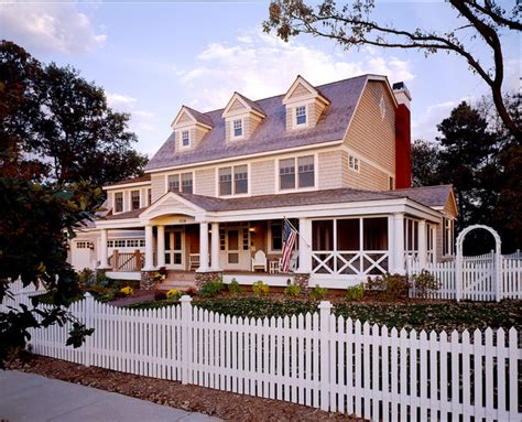 colonial farmhouse with wrap around porch exterior classic american dutch colonial victorian