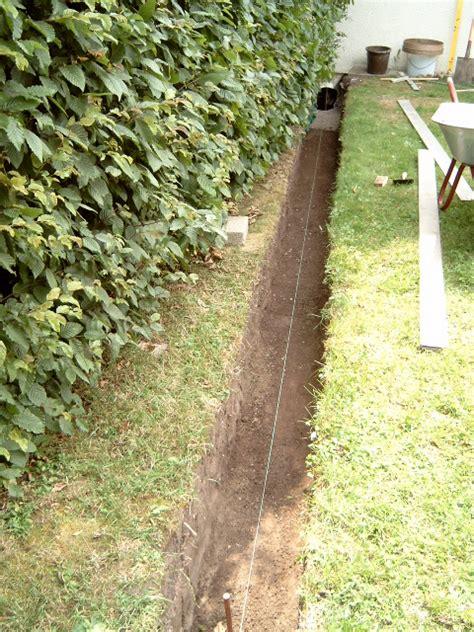 garten lehmboden ausfaht aus dem keller