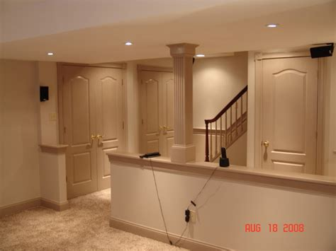 Basement Wall Ideas Not Drywall by Basement Remodel In West Chester Pa Traditional