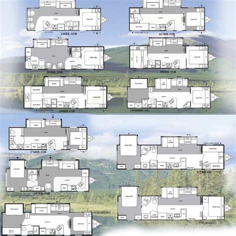 springdale travel trailer floor plans the 25 best travel trailer floor plans ideas on