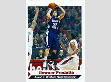 LDSpros - Famous Mormon Athlete Sport Cards Jimmer Fredette Kings Png