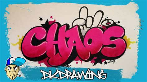 graffiti tutorial   draw chaos graffiti bubble