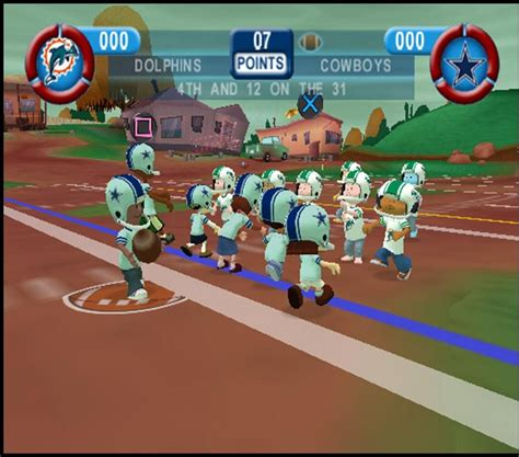 backyard football 2006 backyard football 2006 gamespot