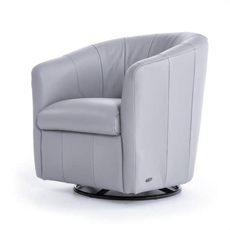 natuzzi swivel chair natuzzi editions natuzzi contemporary barrel swivel chair