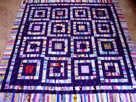 happy srappy squares quilt top fabric quilting blocks ebay