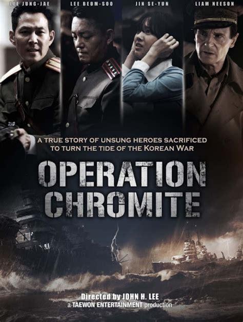 film perang terbaru movis operation chromite film perang korea terbaru sinopsis