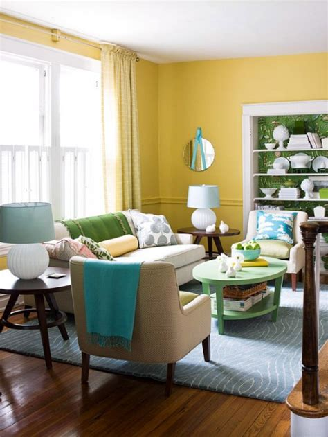 yellow colour schemes living room color combinations yellow and blue