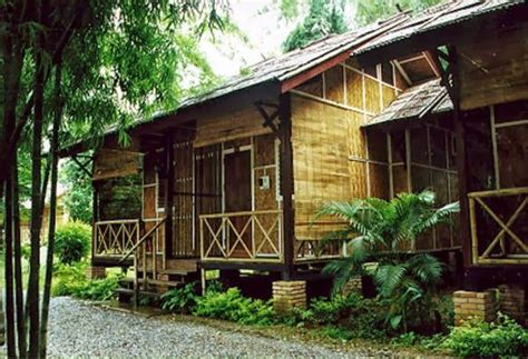 house  philippines modern bamboo house   restful