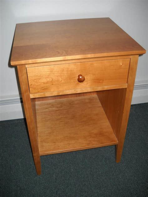 Shaker Furniture Of Maine by Shaker Furniture Of Maine 187 Cherry One Drawer Nightstand