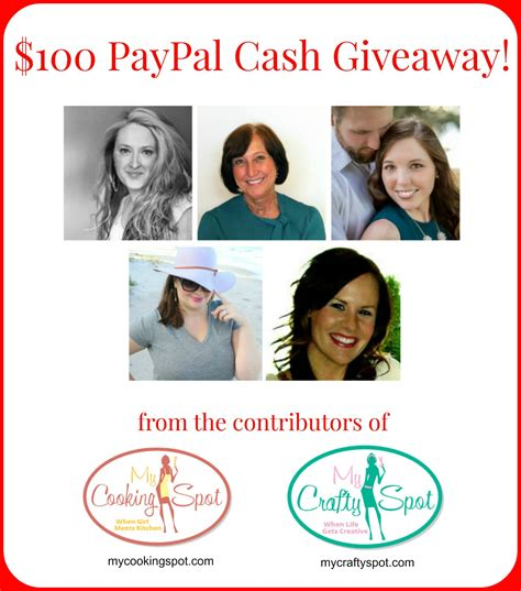 My Great Giveaway - 100 paypal giveaway